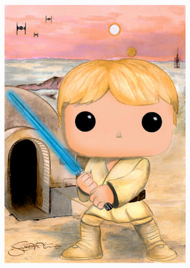 Scoots Art: Luke Farm 11x17 Print