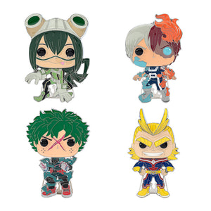 "PRE-ORDER - POP! Pins: MHA (4"" Enamel) (Bundle of 4)"