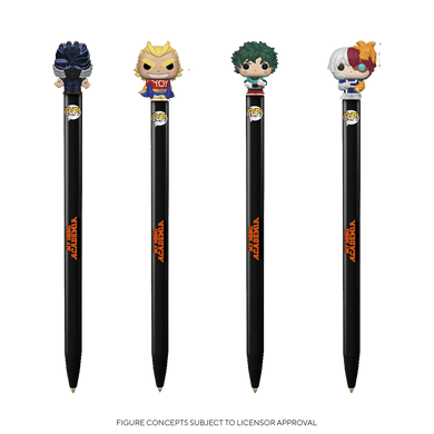 PRE-ORDER - TBD POP! Pen Toppers: MHA S6 (Bundle of 4)