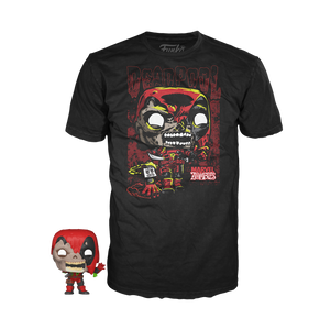 PRE-ORDER - 09/2020 Funko Tee: Pocket POP & Tee, Marvel Zombies Deadpool