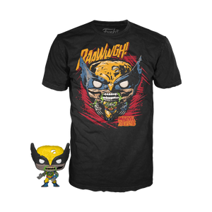 PRE-ORDER - 09/2020 Funko Tee: Pocket POP & Tee, Marvel Zombies Wolverine
