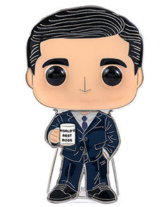 "PRE-ORDER - POP! Pins: The Office S3 (4"" Enamel) Bundle of 4"