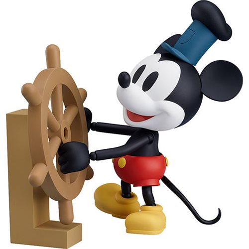 PRE-ORDER - 08/2019 Mickey Mouse Steamboat Willie Nendoroid Action Figure