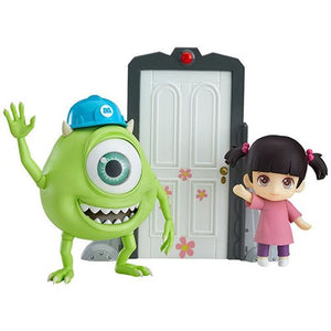 Monsters Inc. Mike and Boo Nendoroid Deluxe Action Figures