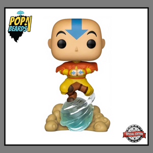 POP! Animation: 541 Avatar The Last Airbender, Aang On Airscooter (Special Edition) Exclusive
