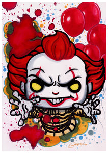 Scoots Art: Pennywise 11x17 Print