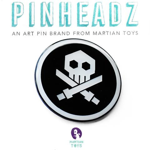 PINHEADZ: Quiccs, Pins Bulletpunk (Epoxy Coat) (Black)