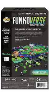 PRE-ORDER - POP! Funkoverse: Rick and Morty 100 Expandalone Game