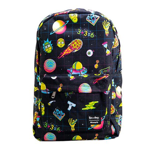 Loungefly: Rick and Morty Galaxy Print Backpack