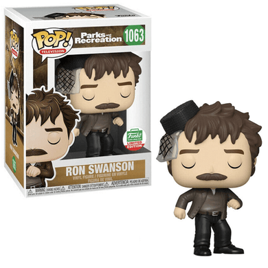 POP! Television: 1063 Parks and Recreation, Ron Swanson (Funko Shop) Exclusive