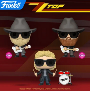 PRE-ORDER - 06/2020 POP! Rocks: ZZ Top, Bundle of 3