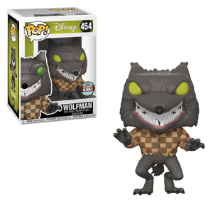 POP! Disney: 454 The Nightmare Before Christmas, Wolfman Specialty Series