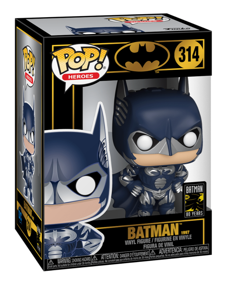 POP! Heroes: 314 Batman & Robin, Batman (1997)