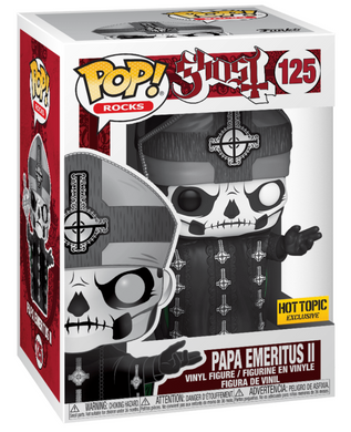 POP! Rocks: 125 Ghost, Papa Emeritus II (Hot Topic)