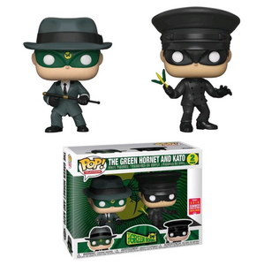 POP! Television: The Green Hornet, The Green Hornet & Kato (2-Pack) (2018 Summer Convention, Shared)