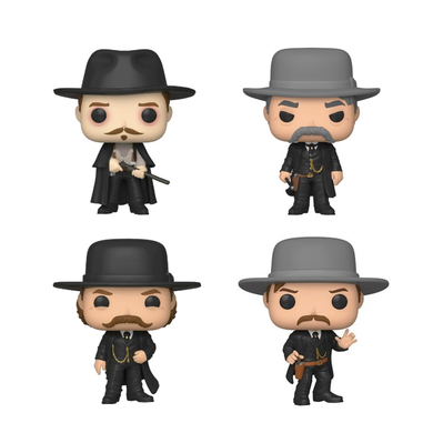 POP! Movies: Tombstone, Bundle of 4