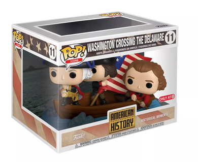 POP! Icons: 11 American History, Washington Crossing the Delaware (Target) Exclu