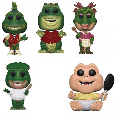 PRE-ORDER - POP! TV:  Dinosaurs (Bundle of 5)