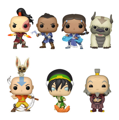 POP! Animation: Avatar The Last Airbender (Bundle of 7)