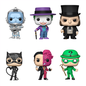 PRE-ORDER - POP! Heroes: Batman (Bundle of 6)