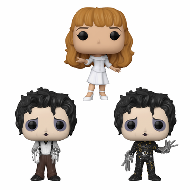 PRE-ORDER - POP! Movies: Edward Scissorhands (Bundle of 3)