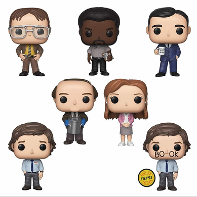 POP! TV: The Office (w/Chase) (Bundle of 7)