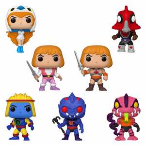 PRE-ORDER - POP! Animation: MOTU (Bundle of 7)