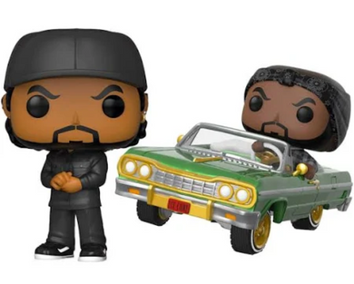POP! Rocks: Ice Cube (w/Ride) (Bundle of 2)