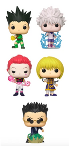 PRE-ORDER - POP! Animation: Hunter x Hunter (Bundle of 5)