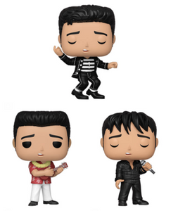 PRE-ORDER - POP! Rocks: Elvis, Bundle of 3