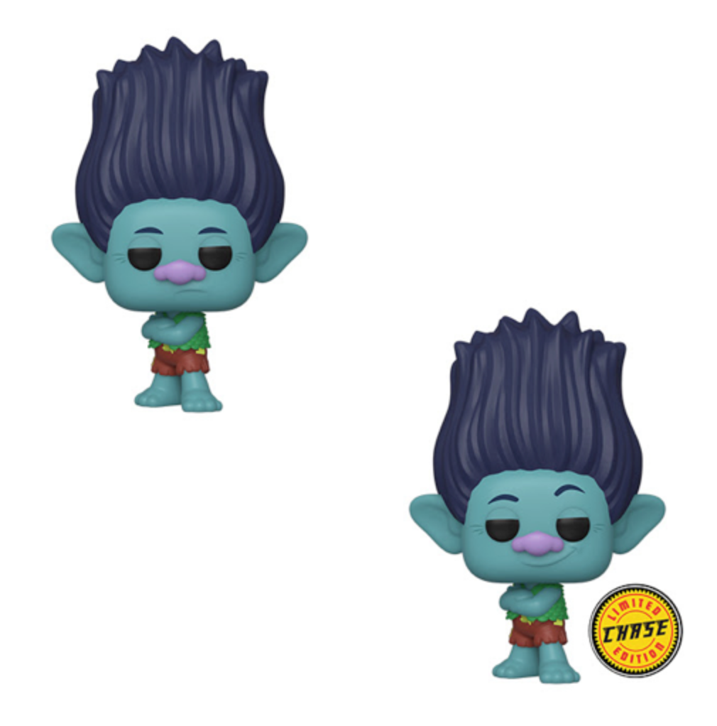 POP! Movies: Trolls World Tour, Branch w/Chase (Bundle of 2)