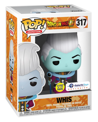 POP! Animation: 317 Dragon Ball Super, Whis (GITD) Galactic Toys Exclusive
