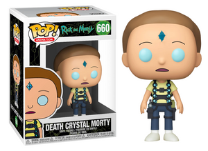 POP! Animation: 660 Rick and Morty, Death Crystal Morty