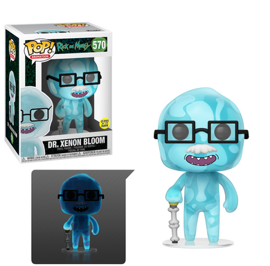 POP! Animation: 570 Rick and Morty S6, Dr. Xenon Bloom (GITD)