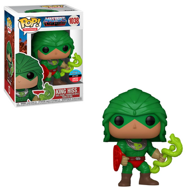 POP! Television: 1038 MOTU, King Hiss (Toy Tokyo) (NYCC 2020) Exclusive