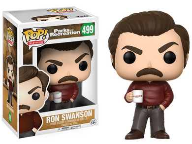 POP! Television: 499 Parks and Recreation, Ron Swanson