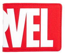 Loungefly: Marvel, Red Brick Logo Wallet (Bi-Fold)
