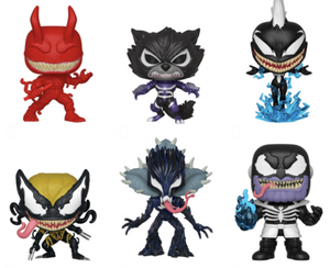 PRE-ORDER - 09/2019 POP! Marvel: Venomized Bundle of 6