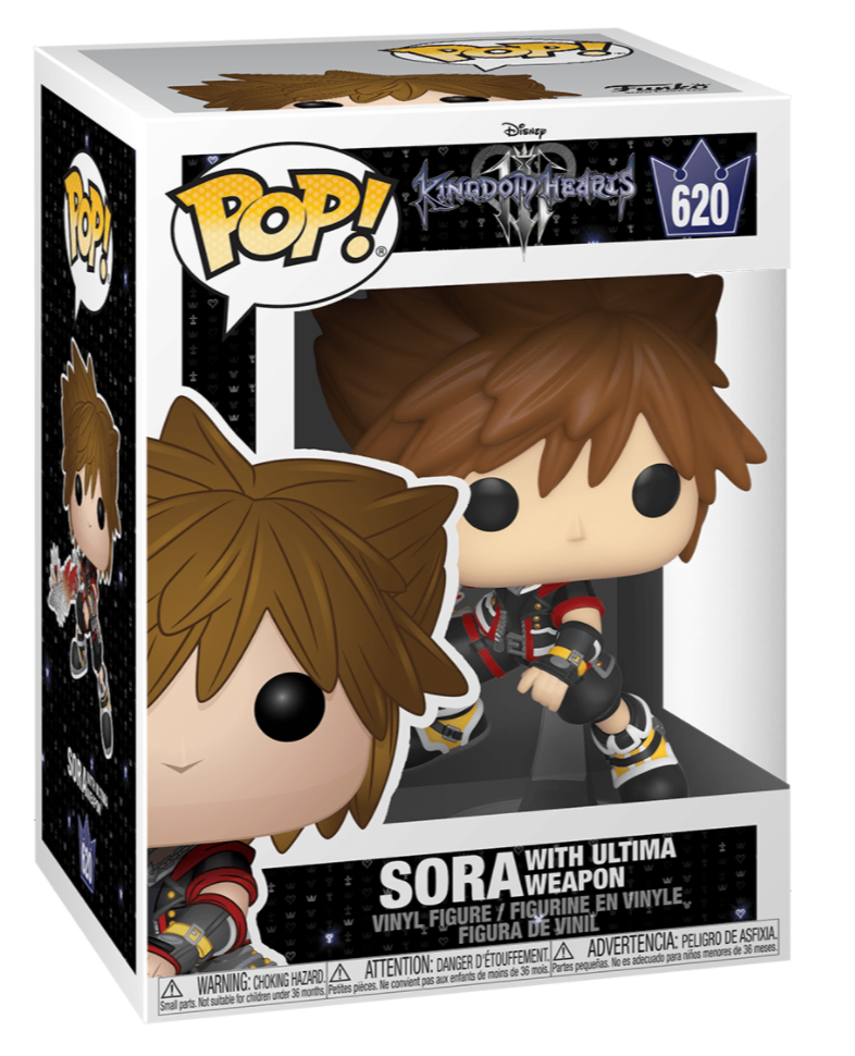SORA #620 with ultima weapon classic Disney FUNKO POP DISNEY/'S KINGDOM HEARTS