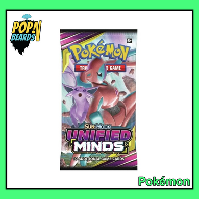 Pokemon: Sun & Moon, Unified Minds Booster Pack