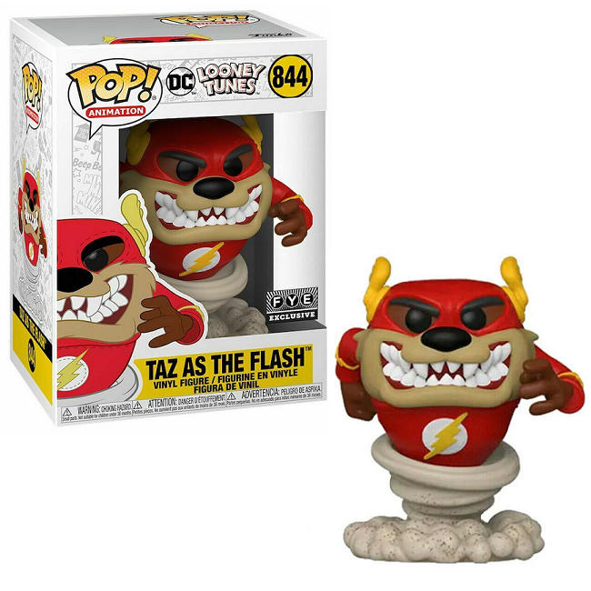 POP! Animation: 844 Looney Tunes, Taz as The Flash (FYE) Exclusive
