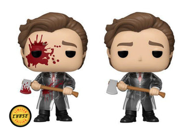 PRE-ORDER - POP! Movies: 942 American Psycho, Patrick (w/Chase) (Bundle of 2)