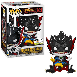 POP! Marvel: 602 Spider-Man Maximum Venom, Venomized Doctor Strange (GITD) (Amazon Exclusive)