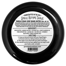 Grave Before Shave: Cigar Blend, Beard Butter (4 oz)