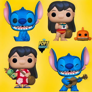 PRE-ORDER - POP! Disney: Lilo & Stitch, Bundle