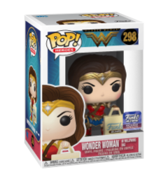 POP! Heroes: 298 Wonder Woman, Wonder Woman w/Hollywood Bag (Hollywood)