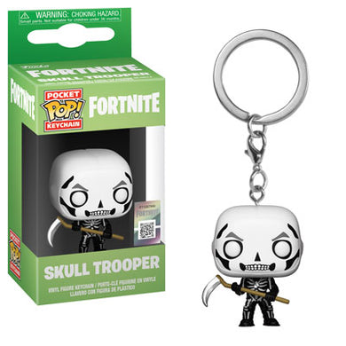 PRE-ORDER - POP! Keychain: Fortnite, Skull Trooper