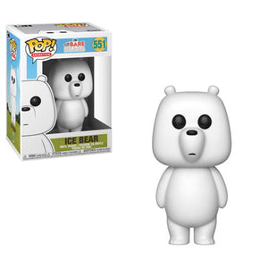POP! Animation: 551 We Bare Bears, Ice Bear