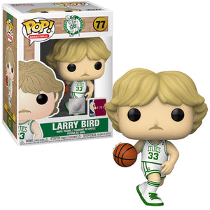 POP! Basketball: 77 Legends, Larry Bird (Celtic Home)