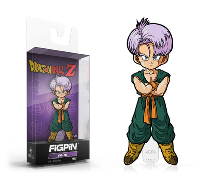 PRE-ORDER - FiGPiN: Dragon Ball Z, Kid Trunks #m43 2